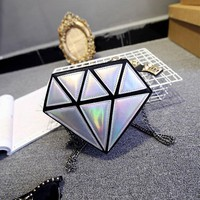 Diamond Holographic Purse