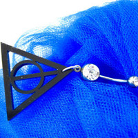 Belly button ring: Deathly Hallows