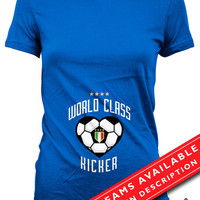 Soccer Pregnancy Announcement Shirt Gifts For Expecting Mothers Soccer Shirts For Mom Pregnancy Reveal Italian Soccer Ladies Tshirt MD-644