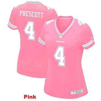 Women's Dallas Cowboys Dak Prescott Game Jersey | Best Online Sale