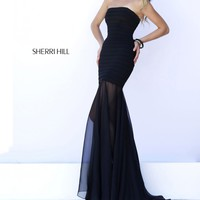 Sherri Hill 32167 Illusion Bandage Dress