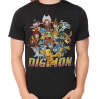 Digimon Group T-Shirt