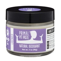 Go Primal Natural Deodorant, Pit Paste Jar, Lavender, Aluminum Free, Level 2 - 2 Oz