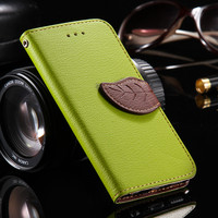 For iPhone 5 5S SE Cases Flip Book Fashion PU Leather Card Slot Cover Hit Color Phones Case For iPhone 7 Plus 5 5S SE 6 6S Plus