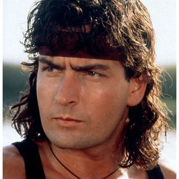 Charlie Sheen Winning! Hot Shots Rambo  Poster 11x17