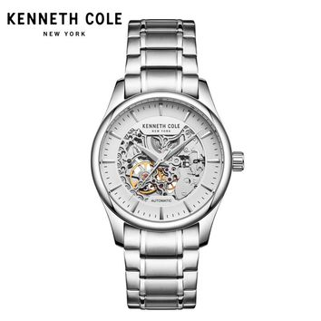 Kenneth Cole Mens Mechanical Wristwatches  Automatic Self-Wind Steel Waterproof Men Watches