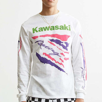 Kawasaki Racing Long Sleeve Tee | Urban Outfitters
