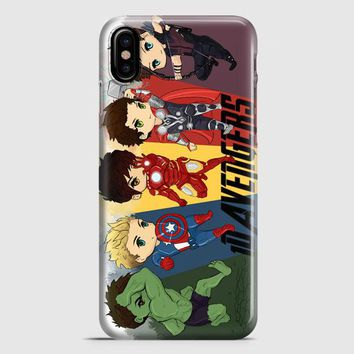 1D Avengers iPhone X Case