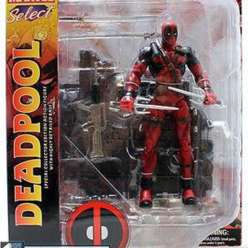Marvel Select Deadpool Masked Action Figure Diamond Select