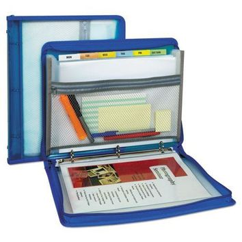 C-Line® Zippered Binder with Expanding File