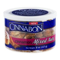 Cinnabon Cinnamon Mixed Nuts, 8.0 OZ - Walmart.com