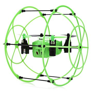 3 in 1 RC Drones Flying Helicopter 2.4GHz 4CH RC Quadcopter 3D Flip Climbing Wall Roller Copter Walking Climbing Flying Modes