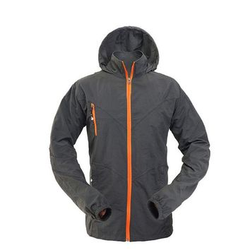 Outdoor Sport Jacket Breathable Quick Drying Jacket Anti UV Camping Hiking Windproof Hunt Clothes