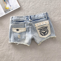 Denim Short Jeans Shorts Womens Shorts Casual Fashion Hole Shorts for Summer