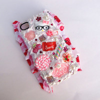 Custom Decoden Kawaii iPhone 4/4S Case by KristaRaeArt on Etsy