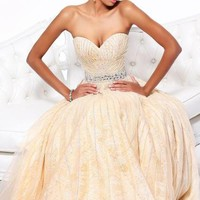 Sherri Hill Dress 8516 at Peaches Boutique