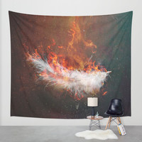 Icarus Wall Tapestry by HappyMelvin