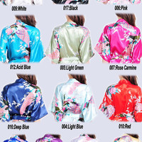 robes for women bath robe lightweight robes bridesmaid gift custom robe personalized bathrobes satin kimono robe wedding robe satin bathrobe
