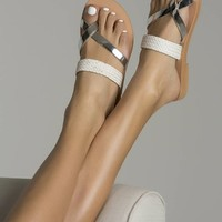 Comfortable handmade leather sandals for women and girls with straw strapped genuine leather.