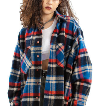 Vintage 90's Pacific Northbest Flannel - One Size Fits Many