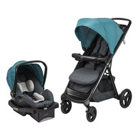 Evenflo Lux24 Travel System with LiteMax 35 Infant Car Seat - Deep Lake