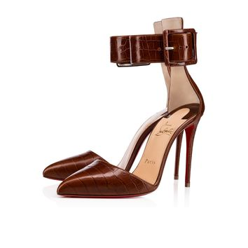 Harler 100 Cuoio Calf Nil - Women Shoes - Christian Louboutin