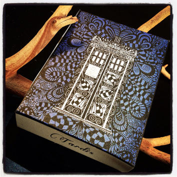 Instant Downloadable Dr.Who Tardis Gift Box