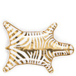 Metallic Zebra Dish - Gold