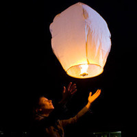 Sky Lanterns Mini Hot Air Balloon