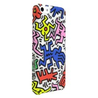 GRAPHT Keith Haring Collection Official Licensed Product Hard Case for iPhone 5C - Chaos - Retail Packaging