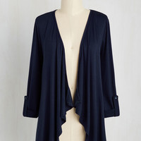 Styled and Freelance Cardigan in Navy | Mod Retro Vintage Sweaters | ModCloth.com
