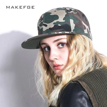 Trendy Winter Jacket Fashion Camouflage snapback polyester cap blank flat camo baseball cap with no embroidery mens cap and hat for men and women AT_92_12