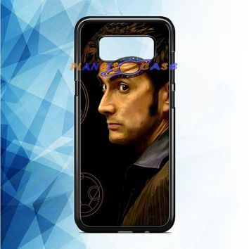 Tenth Doctor With Gallifreyan Samsung Galaxy Note 8 Case Planetscase.com