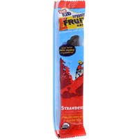 CLIF KID ZFRUIT - Organic Fruit Snack - Strawberry - - 0.7 Ounce Rope - 18 Count
