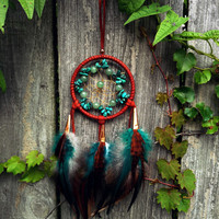 Small Dream Catcher Car Accessory Little Dreamcatcher