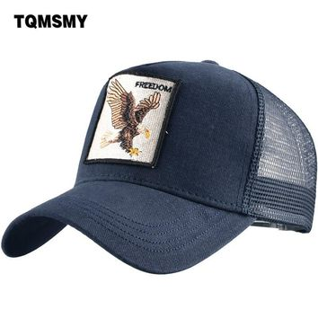 Trendy Winter Jacket TQMSMY Trucker Hat Men Women eagle Baseball Hat Summer Cotton Cap Unisex Baseball Caps Snapback Hat Hip Hop gorras TMDHY AT_92_12