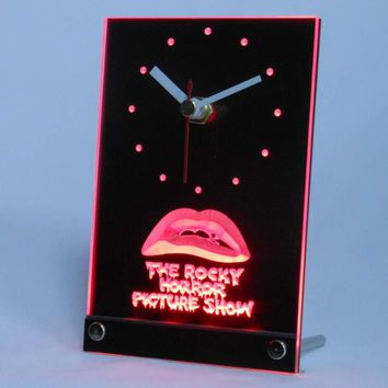 tnc0220 The Rocky Horror Picture Show Table Desk 3D LED Clock