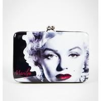 Marilyn Monroe Redlips Hinged Kisslock Wallet