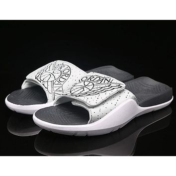 Air Jordan Hydro 7 Woman Men Fashion Slippers Sandals Shoes