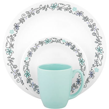 Walmart: Corelle Livingware Day Dream 16-Piece Dinnerware Set