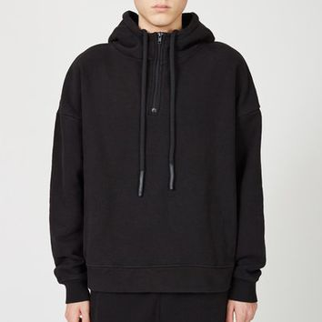 Kanye West x Adidas Originals Half Zip Hoodie - MEN - JUST IN - Kanye West x Adidas Originals