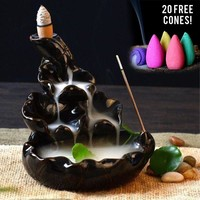 Waterfull Incense Burner(20 Cones Included)