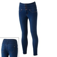 Tinseltown High-Waist Skinny Ankle Jeans - Juniors