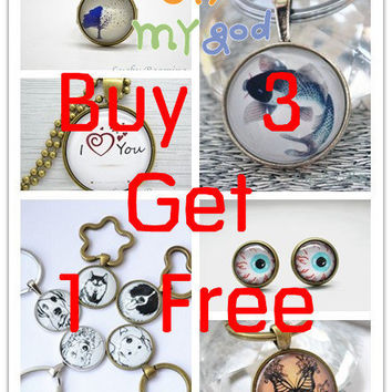 Buy 3 Get 1 Free,whole shop promotion listing,Details in listing,Do Not buy this listing