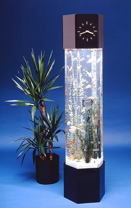Vertical fish tank large vertical from opulent items for Vertical fish tank