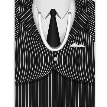 Pinstripe Gangster Jacket Printed Costume Aluminum Paper Clip Bookmark All Over Print