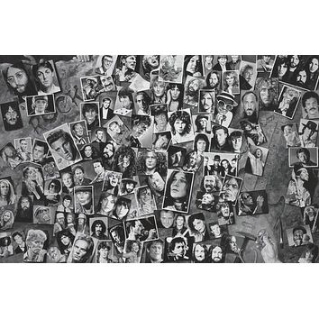 Rock and Roll Legends Poster 24x36