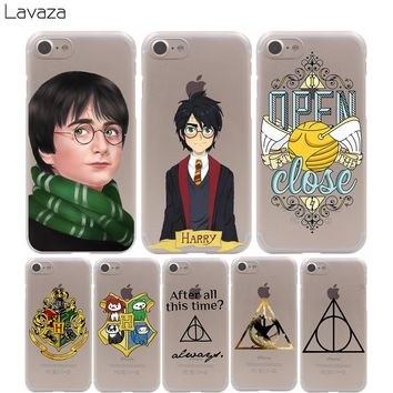 Lavaza Harry Potter Marau Cover Case for iPhone X 10 8 7 Plus 6 6S Plus 5 5S SE 5C 4 4S Cases