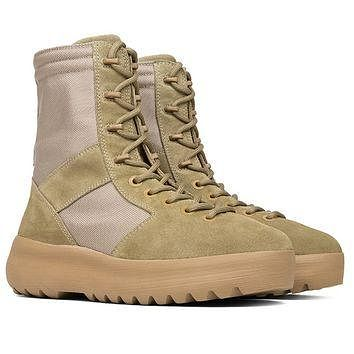 Indie Designs Kanye West Favorite Yeezy Season 3 Military Boots