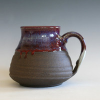 LARGE Coffee Mug, 20 oz, handmade ceramic cup, handthrown mug, stoneware mug, pottery mug, unique coffee mug, ceramics and pottery